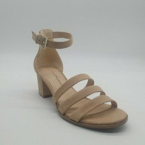 Isaac Mizrahi Womans Mabel Ankle Strap Heels NEW